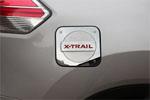 Хром накладка на лючок бензобака для Nissan X-Trail 2014+ (Kindle, NX-C42)
