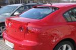 """Задний спойлер """"Сабля"""" на Mazda 3 03- (BK-Tun, M33SB)"""