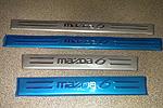 Накладки на пороги для Mazda 6 (Libao, MAZ6.SIDE01)