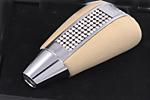 Ручка АКПП с камнями «Mellow White» Mercedes (ONGO, MBMW.T1)