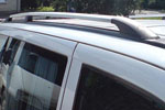 Рейлинги алюминиевые (концевики ABS пластик) для Mercedes Vito 2004- (Can-Otomotive, MEVI04ABSS)