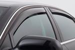 Ветровики (дефлекторы окон) для Mitsubishi Lancer 2008- (Climair, CLI0033572/CLI0044187)