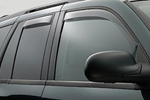 Ветровики (дефлекторы окон) для Mitsubishi Pajero 2007- (Climair, CLI0033523/CLI0044140)