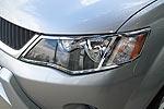 Накладки фар Mitsubishi Outlander 2007- хромированные (EGR)