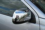 Накладки зеркал Mitsubishi Outlander 2007- хромированные (EGR)