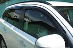 Дефлекторы боковых окон (темные) для Mitsubishi Outlander 2012- (EGR, 92460034B)
