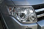Накладки на фары Mitsubishi Pajero Wagon 2007- (EGR)