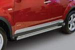 Расширители колесных арок с интегрированными боковыми порогами для Mitsubishi OUTLANDER с 2007 (EGR FFS226180)