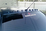 Спойлер заднего стекла (козырек) Mitsubishi Lancer 9 (BK-Tun, ML02)