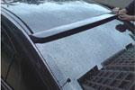 Козырек заднего стекла (бденда) Mitsubishi Lancer X (BK-Tun, ML101)