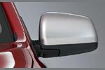 Хром накладки на зеркала Mitsubishi Lancer X  (EGR, ML239230)