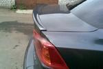"""Задний спойлер """"Сабля"""" на Mitsubishi Lancer X (BK-Tun, MLX3SB)"""