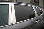 Хром накладки на боковые стойки дверей для Honda CR-V 2012+ (Kindle, CRV-D21)