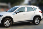 Комплект хром молдингов по периметру боковых стекол для Mazda CX-5 2011+ (Kindle, CX5-D21-23)