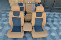 Авточехлы (Leather Style) для салона Toyota Land Cruiser 100 1998-2007 (MW BROTHERS)