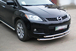 Защита переднего бампера «Cityguard» Mazda CX-7 2007- (UAtuning, MZD.CX7.C101)