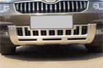 Накладка на передний бампер Skoda Yeti 2010+ (Kindle, SKY-B41)