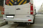 Юбка на задний бампер для Mercedes Sprinter (W906) 2005+ (DDA-TUNNING, NACMERSPRIN90606)