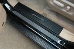 Накладка на внутренний пластик порогов (карбон) для Mitsubishi ASX (FL)/Outladere III 2013+ (NATA-NIKO, PV-MI14+k)
