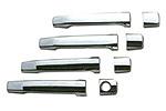 Хром накладки дверных ручек к-т Mazda 3/6 2003- (Omsa Prime, 000148)