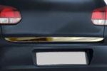 Хром накладка на нижнюю кромку крышки багажника Volkswagen Golf VI 5D 2008- (Omsa Prime, 7518053)