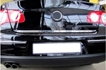 Накладка на нижнюю кромку крышки багажника Volkswagen Golf VI 5D 2008- (Alu-Frost, 24-3028)