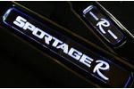 Накладки на пороги с подсветкой KIA Sportage 2010- (KAI, KS.LDS.01)