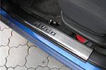 Накладки на внутренние пороги Chevrolet Aveo (Omsa Prime, 1288..5593)