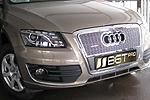 Накладка на решетку радиатора и бампера (сетка) Audi Q5 (BGT-PRO, RBSET-AQ5)