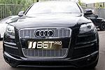 Накладка на решетку радиатора и бампера (сетка) Audi Q7 (BGT-PRO, RBSET-AQ7)