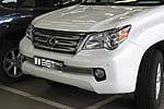 "Накладка на решетку бампера ""сетка"" Lexus GX460 (BGT-PRO, RBPSET-LGX460)"