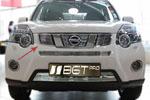 Накладка на решетку радиатора (гриль) для Nissan X-TRAIL 2010- (BGT-PRO, RRGR-NT32)