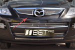 "Накладка на решетку радиатора ""сетка"" Mazda CX-9 2010- (BGT-PRO, RRSET-MAZCX9)"