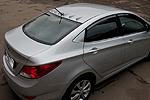 Накладка заднего стекла Hyundai Accent 2011- (BGTPro, HYU-AC11R253)