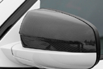 "Накладки на зеркала ""Carbon"" BMW X6 08- (S-Line, BMW.X6.10.08)"