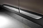 Декоративная накладка на нижнюю часть двери ʺMobisʺ Hyundai IX35 2010- (Mobis, HTIX.SDHS.0125)