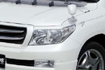 "Реснички на фары ""Jaos Style"" Toyota LC 200 07- (AD-Tuning, TLC200-FLC)"