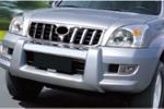 """Накладка переднего бампера """"OE Style"""" Toyota Prado 120 2002 - (TOYFJ120F001)"""