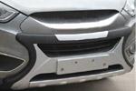Накладка на передний бампер для Hyundai IX35 2010-2013 (Kindle, HT-B97)