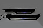 Накладки на пороги с подсветкой (черные) для Toyota Camry V40/V41 (BGT-PRO, NP-TOYCAM-40/41CH)