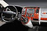 Декоративные накладки в салон ʺДеревоʺ VW T5 Multivan (Meric, 563.498.573)