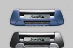 Накладка на передний бампер «Mobis» Hyundai Santa Fe 2006- (Mobis, HYU.FBG.01)