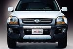 Накладка на передний бампер «Mobis» KIA Sportage 04- (Mobis, KIA.FBG.01M)