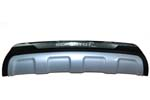 Накладка на задний бампер Kia Sorento 2013-2014 (Kindle, KSO-B34)
