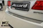 Накладка на задний бампер для Honda Accord 2013+ (NataNiko, B-HO10)