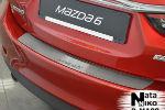 Накладка на задний бампер для Mazda 6 III 2013+ (NataNiko, B-MA08)