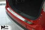Накладка на задний бампер для Mitsubishi Outlander III 2013+ (NataNiko, B-MI09)