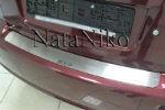 Накладка на задний бампер для Suzuki SX4 (4D) 2006+ (NataNiko, B-SZ04)