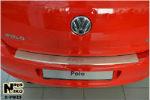 Накладка на задний бампер для Volkswagen Polo V (5D) 2009+ (NataNiko, B-VW23)