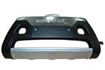 Накладка на передний бампер для Kia Sorento 2013-2014 (Kindle, KSO-B33)